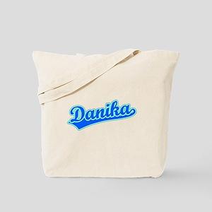 Retro Danika (Blue) Tote Bag