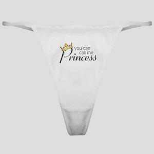 CALL ME PRINCESS Classic Thong