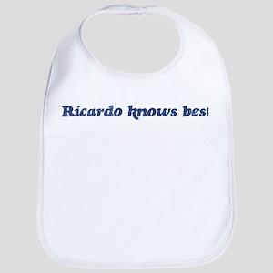 Ricardo knows best Bib