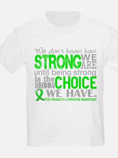 NH Lymphoma HowStrongWeAre T-Shirt