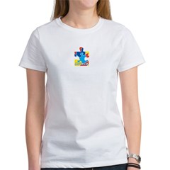 Autism Puzzle Piece Women's T-Shirt