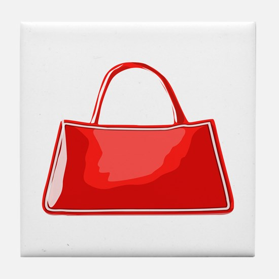 Handbag Tile Coaster