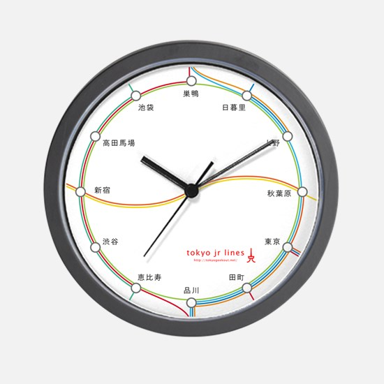 tokyo jr lines (ja) Wall Clock