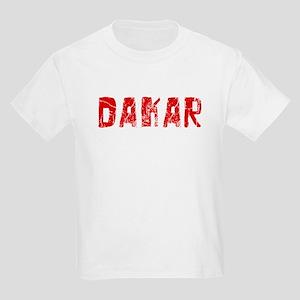 Dakar Faded (Red) Kids Light T-Shirt