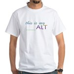 This is my alt White T-Shirt