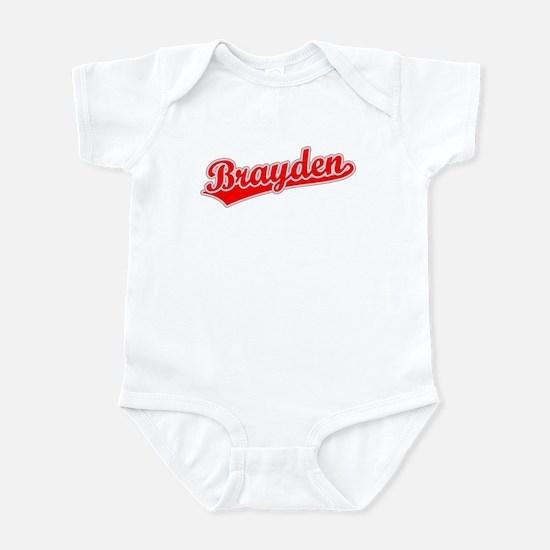 Retro Brayden (Red) Infant Bodysuit