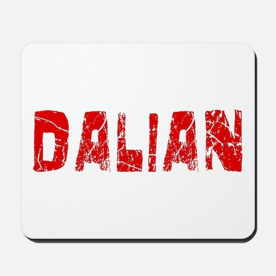 Dalian Faded (Red) Mousepad