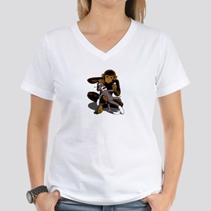 Simian Voodoo Women's V-Neck T-Shirt