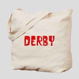 Derby Faded (Red) Tote Bag