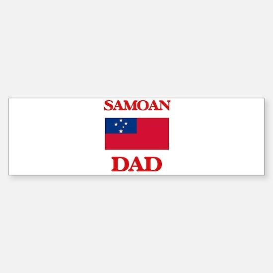 Samoan Dad Bumper Bumper Bumper Sticker
