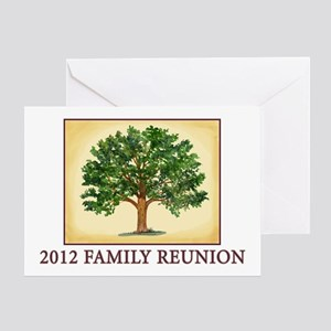 Family Reunion Blank Greeting Card