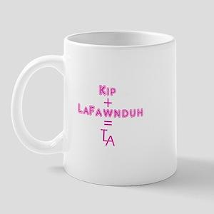 Kip + LaFawnduh = True Love Always Mug