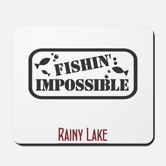 Fishin Impossible Mousepad
