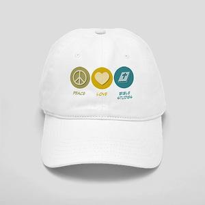 Peace Love Bible Studies Cap