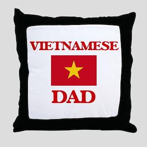 Vietnamese Dad Throw Pillow
