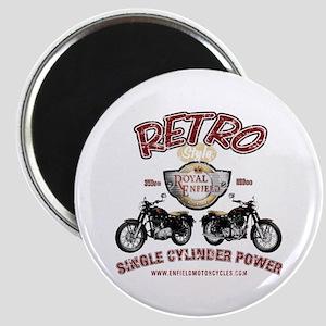 Retro Single Cylinder Power Magnet