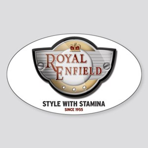 Style With Stamina Oval Sticker