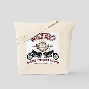 Retro Single Cylinder Power Tote Bag
