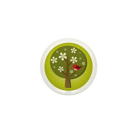 Japanese Ume Mini Button