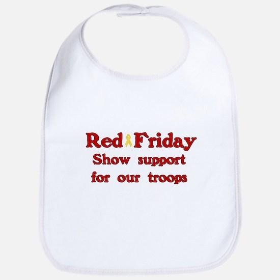 Red Friday Bib
