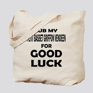Rub My Petit Basset Griffon Vendeen Dog F Tote Bag