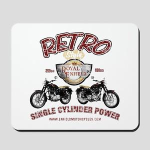 Retro Single Cylinder Power Mousepad