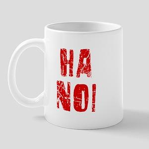 Ha Noi Faded (Red) Mug