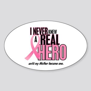Never Knew A Hero 2 (Mother) Oval Sticker