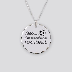 Football fan Necklace Circle Charm