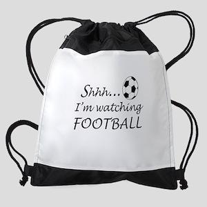 Football fan Drawstring Bag