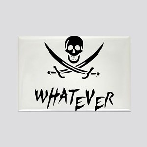 Whatever Pirate Rectangle Magnet