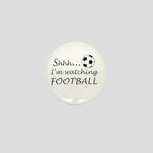 Football fan Mini Button