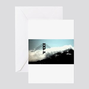 Foggy Golden Gate Greeting Card