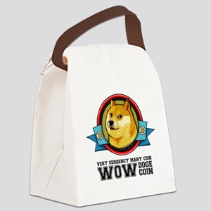 Dogecoin Doge Shibe Wow Much Netw Canvas Lunch Bag
