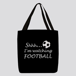 Football fan Polyester Tote Bag