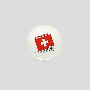 Switzerland Soccer Team Mini Button (100 pack)
