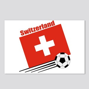 Switzerland Soccer Team Postcards (Package of 8)