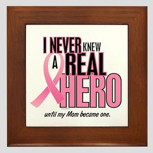 Never Knew A Hero 2 (Mom) Framed Tile