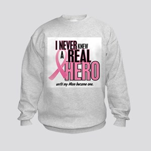 Never Knew A Hero 2 (Mom) Kids Sweatshirt