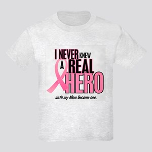 Never Knew A Hero 2 (Mom) Kids Light T-Shirt