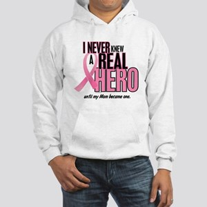 Never Knew A Hero 2 (Mom) Hooded Sweatshirt