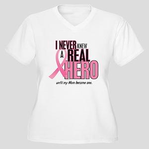 Never Knew A Hero 2 (Mom) Women's Plus Size V-Neck