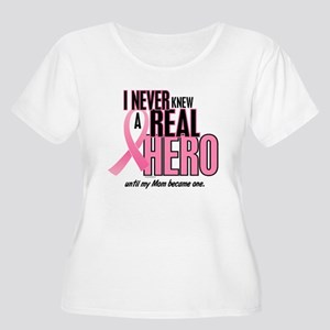 Never Knew A Hero 2 (Mom) Women's Plus Size Scoop