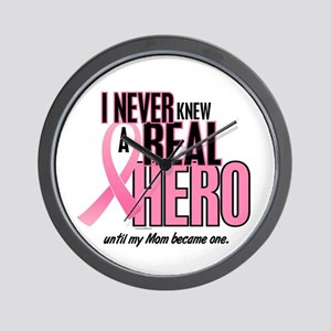 Never Knew A Hero 2 (Mom) Wall Clock