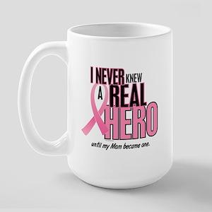 Never Knew A Hero 2 (Mom) Large Mug