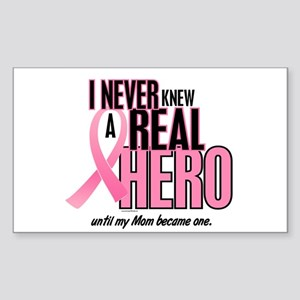 Never Knew A Hero 2 (Mom) Rectangle Sticker