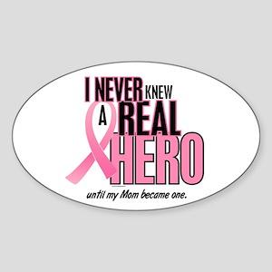 Never Knew A Hero 2 (Mom) Oval Sticker
