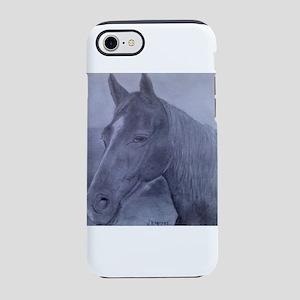 HORSE PORTRAIT iPhone 8/7 Tough Case