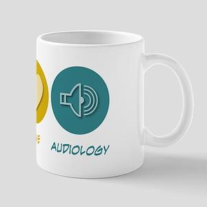 Peace Love Audiology Mug