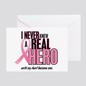 Never Knew A Hero 2 (Aunt) Greeting Card
